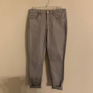 JESSICA SIMPSON Rolled Crop Skinny Size 6/28